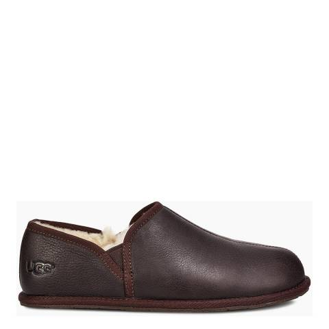 UGG Stout Leather Romero II Scuff Slippers
