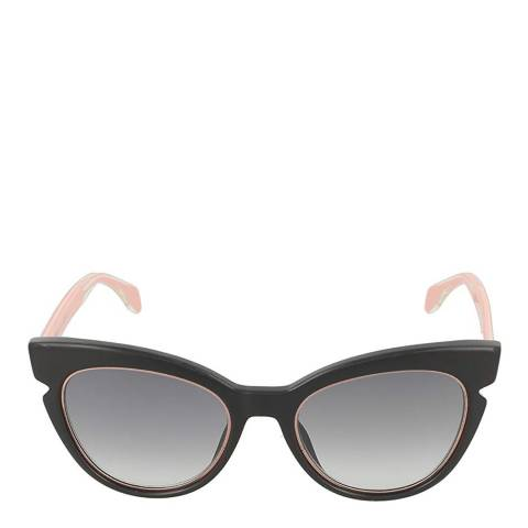 Fendi Women's Black / Pink Cat Eye Sunglasses 51mm