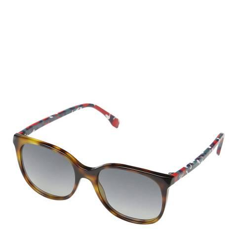 Fendi Women's Havana Brown / Multi Sunglasses 53mm