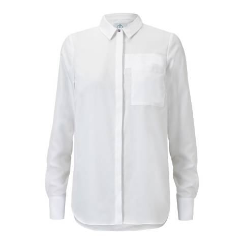 Outline White Brockwell Cotton Shirt