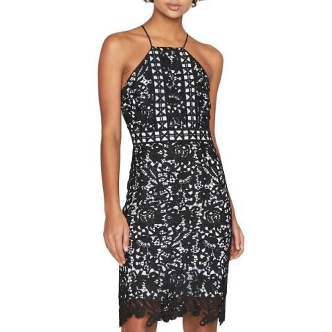 Outline Black/Light Blue Rochester Dress