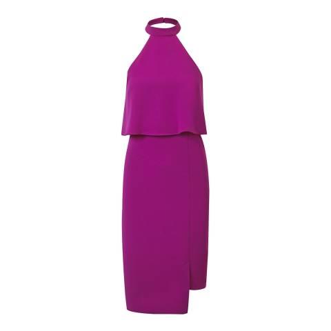 Outline Magenta City Dress