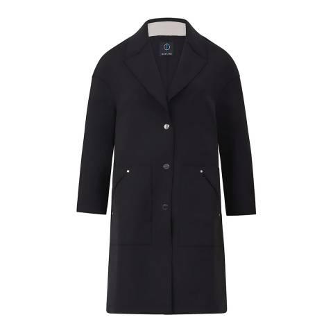 Outline Black Columbia Coat