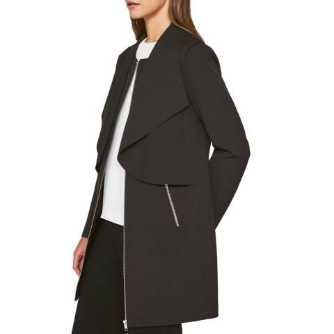 Outline Black Dover Coat