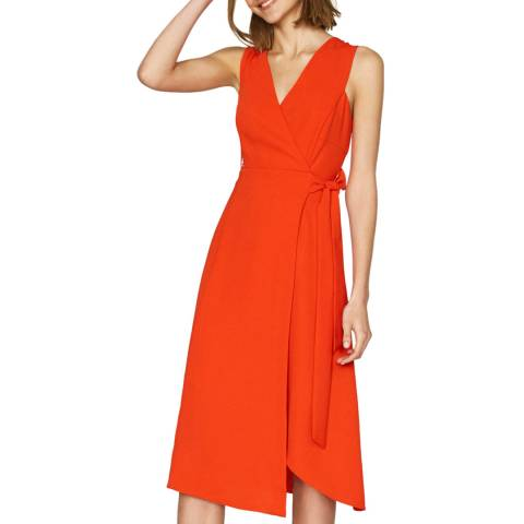 Outline Orange Elbury Dress