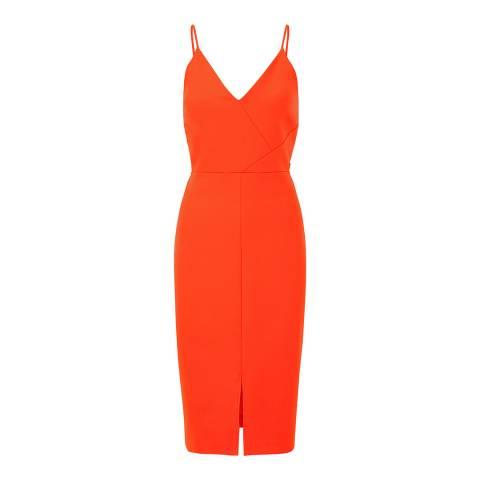 Outline Orange York Dress