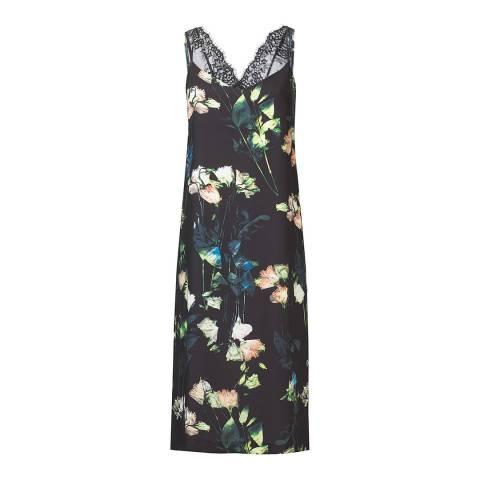 Outline Black/Multi Imperial Floral Dress