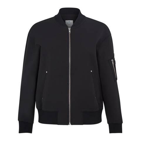 Outline Black Kingston Bomber Jacket