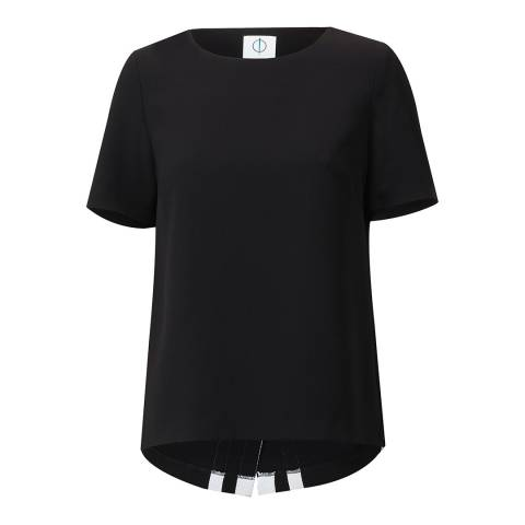 Outline Black Beckton Top