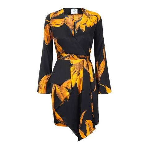 Outline Black/Amber Belsize Dress