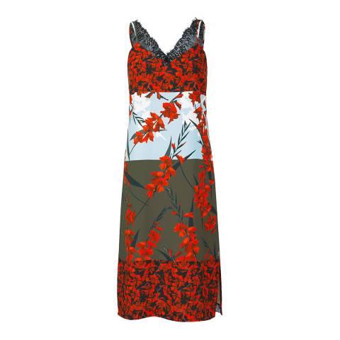 Outline Multi Orchard Dress