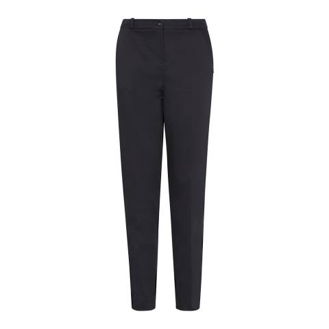Outline Black Oval Trousers