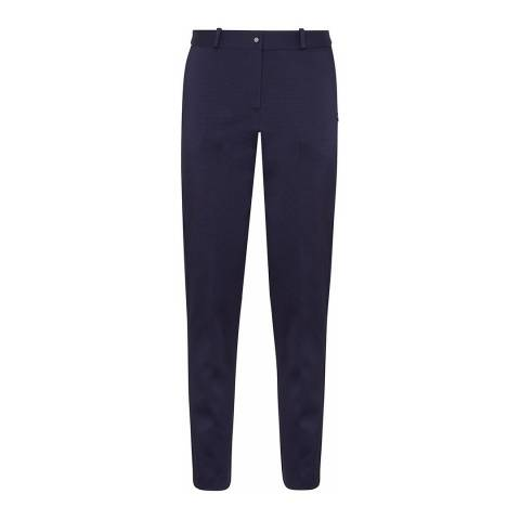 Outline Navy Oval Trousers