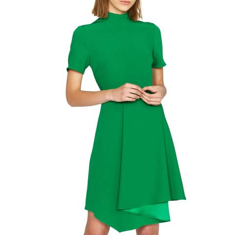 Outline Green Priory Dress