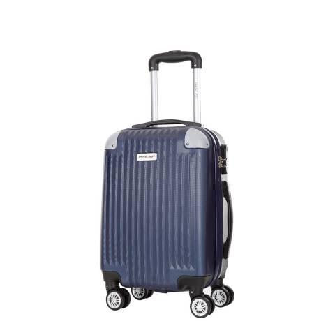Travel One Marine Blue 8 Wheel Nosara Suitcase 46cm