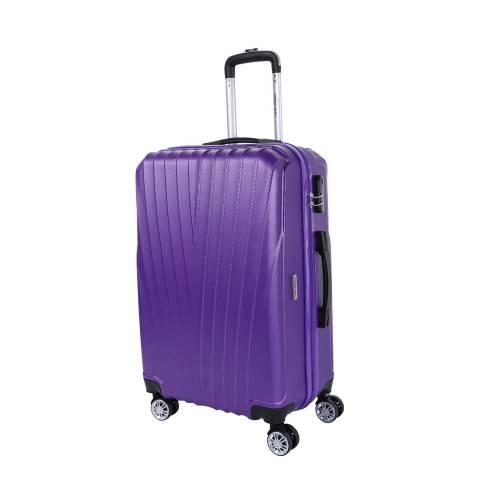 Travel One Violet 8 Wheel Elson Suitcase 66cm