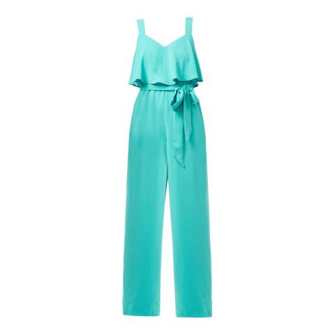 Adrianna Papell Aqua Reef Pop-Over Jumpsuit