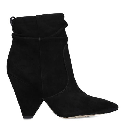 Sam Edelman Black Suede Roden Ankle Boots