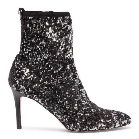 Sam Edelman Black Sequin Olson Sock Boots