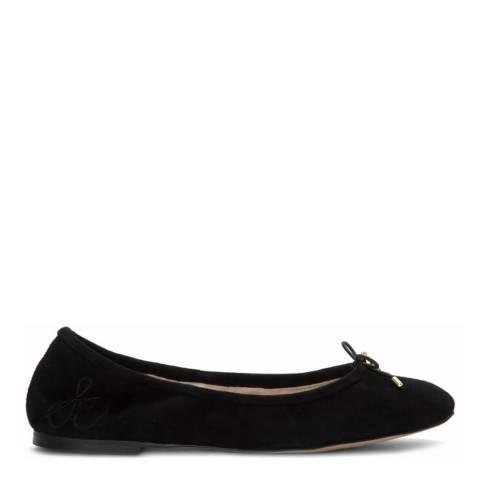 Sam Edelman Black Suede Felicia Ballet Flats