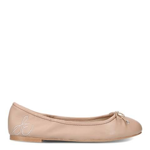 Sam Edelman Nude Leather Felicia Ballet Flats