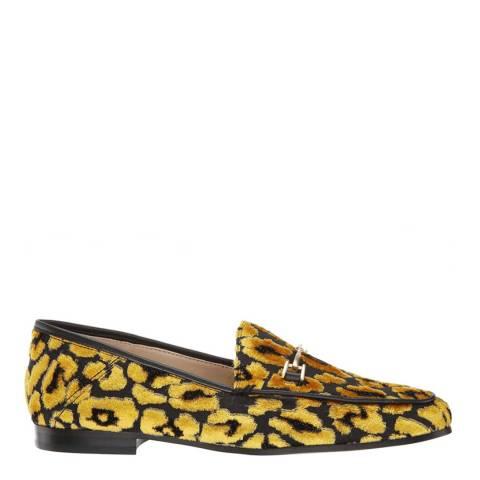 Sam Edelman Tuscan Yellow Multi Velvet Loraine Loafers
