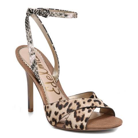 Sam Edelman Leopard Aly Heeled Sandals