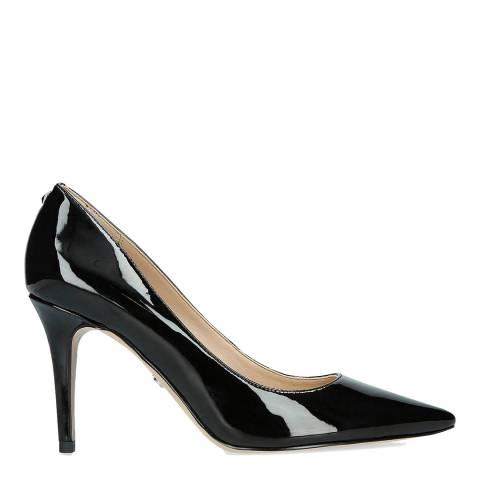 Sam Edelman Black Leather Margie Patent Court Shoes