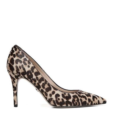 Sam Edelman Leopard Print Brahma Hair Margie Court Shoes