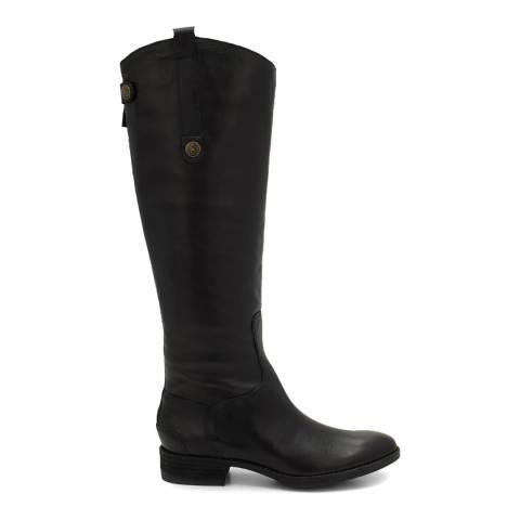 Sam Edelman Black Leather Penny Riding Boots