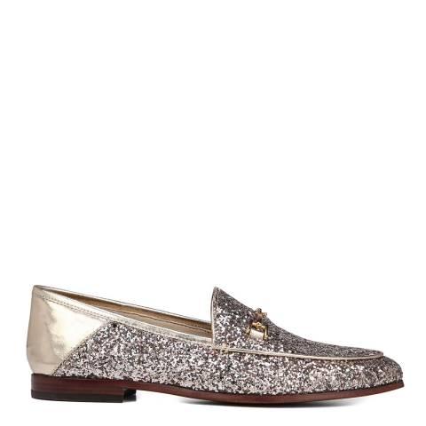 Sam Edelman Molten Gold Loraine Glitter Loafers