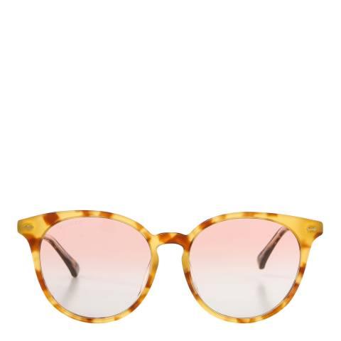 Gucci Women's Light Round Gucci Sunglasses 55mm