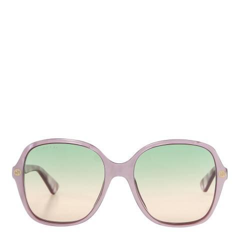 Gucci Women's  Pink Gucci Sunglasses 55mm