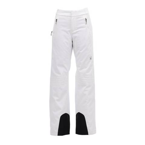 Spyder White Insulated Pants