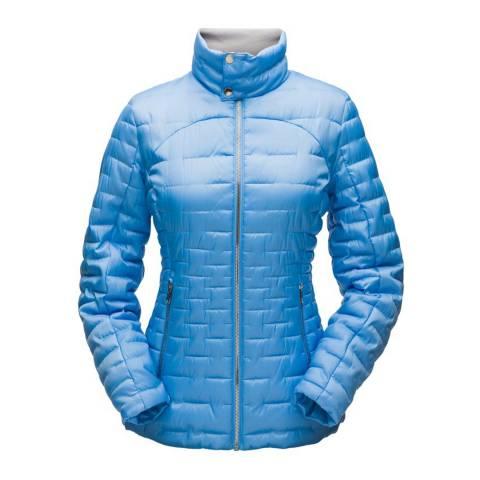 Spyder Women's Blue Ice Edyn Insulated Casual Jacket