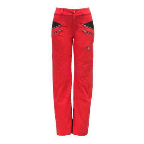 Spyder Women's Red/Black Tailored Pants