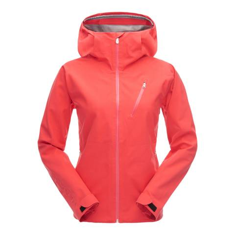 Spyder Women's Red Jagged Shell Ski Jacket