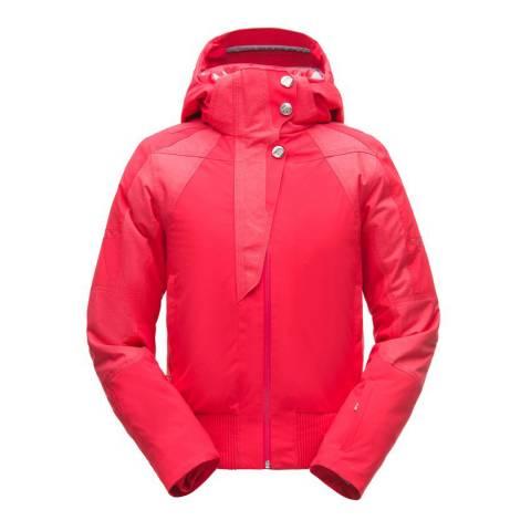 Spyder Red Meribel Ski Bomber Jacket