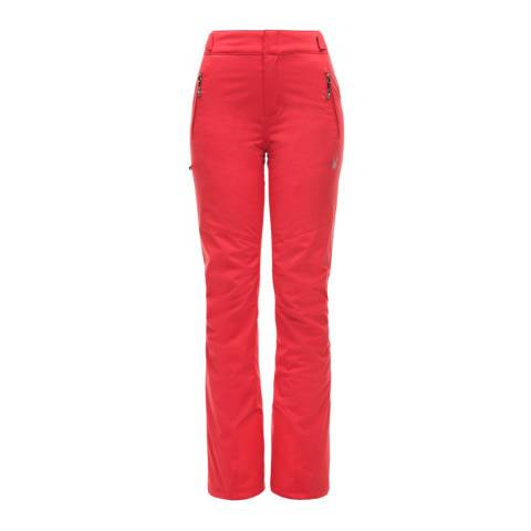 Spyder Women's Red Winner Tailored Pants