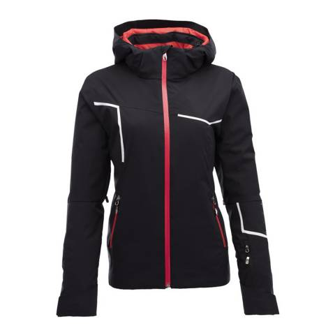Spyder Women's Black/White Protege Ski Jacket