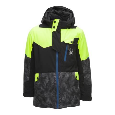 Spyder Kid's Yellow Tordrillo Jacket
