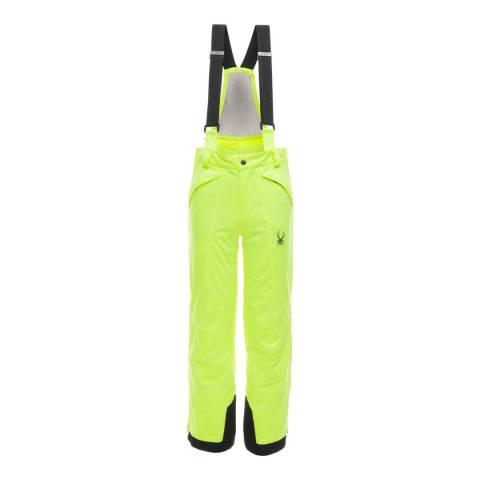 Spyder Kid's Yellow Guard Pant
