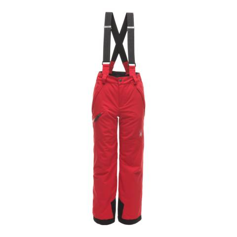 Spyder Kid's Red Propulsion Pant