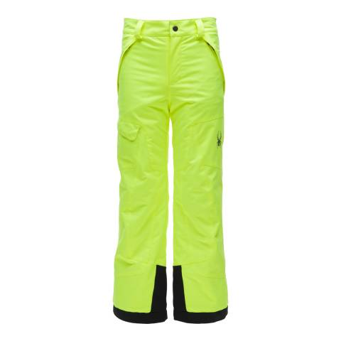 Spyder Kid's Yellow Action Pant
