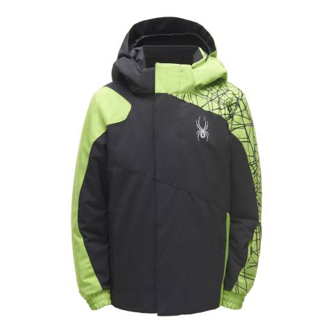 Spyder Kid's Mini Black Guard Jacket