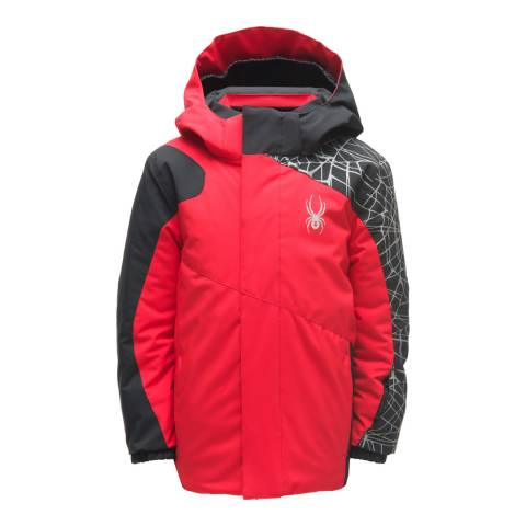 Spyder Kid's Mini Red Guard Jacket