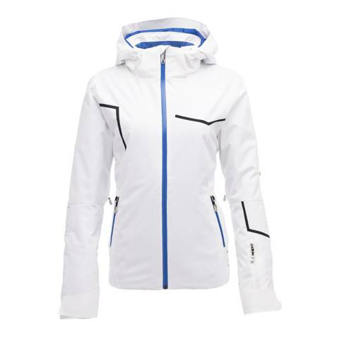 Spyder Women's White Protege Ski Jacket