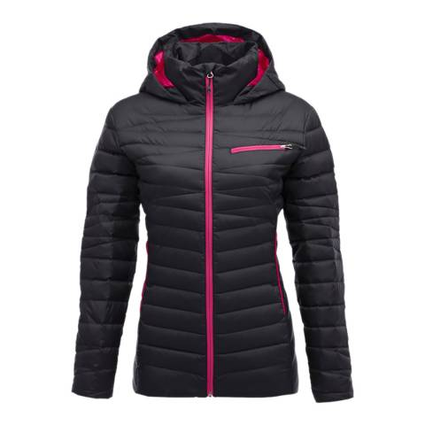 Spyder Women's Black Timeless Hoody Down Jacket