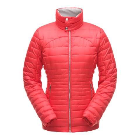Spyder Women's Red Edyn Insulated Casual Jacket