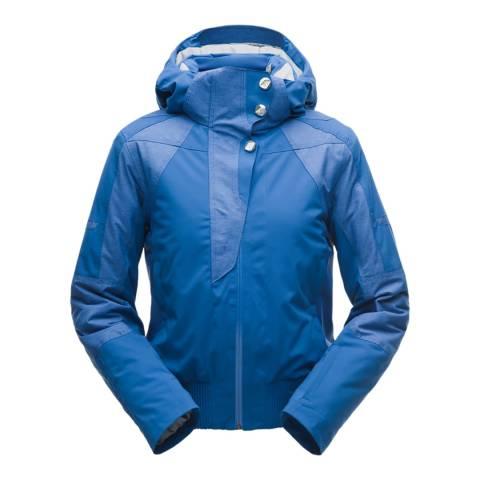 Spyder Women's Blue Meribel Ski Bomber Jacket